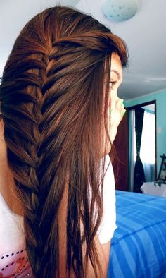 Loosely braided