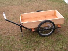 The Cycle Cart – A Bicycle Trailer | Maine Cycle Carts