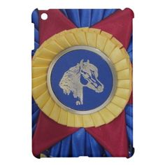 Shop Horse Show Rosette iPad Mini Cover created by WoofNWhinny. Cute Ipad Cases, Ipad Mini Cases, Leopard Bedroom, Show Horses, Chicago Cubs Logo, Rosettes, Plastic Case, Your Design, Personalized Gifts