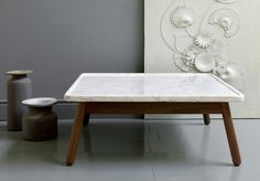 Carved tables G by Bethan Gray