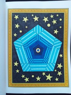 Mesmerizing Mandalas Randall McVey Omnipresent Creative Haven Coloring Book Kuretake Clean