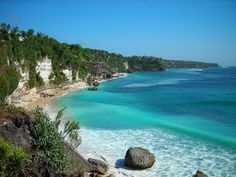 Sawarna Beach, Banten, Indonesia. Next holiday destinationn <3