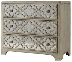 Fretwork Chest - contemporary - Dressers Chests And Bedroom Armoires - Benjamin Rugs and Furniture
