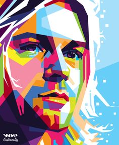 Kurt cobain in Wedha's Pop Art Potrait  For order : zaldirizaldi@yahoo.com
