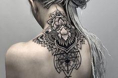 neck tattoo - neck tattoo for women - neck tattoo ideas neck tattoos Best Neck Tattoo Designs - Creative Neck Tattoo Ideas - Gallery Best Neck Tattoos, Neck Tattoos Women, Head Tattoos, Cover Up Tattoos, Back Tattoos, Body Art Tattoos, Sleeve Tattoos, Back Of Neck Tattoos For Women, Tatoos