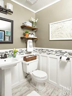 Budget Friendly Tips For Renovating A Powder Room
