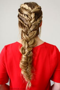 Triple Braided French Braid