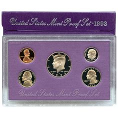 1993-S 5-Coin Proof Set