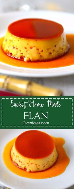 Flan is an elegant desert made with 3 simple ingredients - milk , eggs and sugar. A favorite of kids and adults alike , whether you know it as flan, caramel custard or cream caramel.