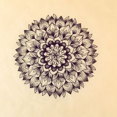 Mandala Designs, rochelleslife: Mandala land. #mandala #dotwork...