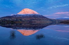 Sunset On errigal by Ashley Kydd on YouPic Nikon D800, Donegal, Nature Pictures, Mount Rainier, Ireland, Mountains, Sunset, Ancestry, Irish