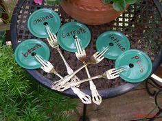 garden row markers