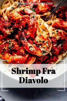 Yummy Pasta Recipes, Spicy Recipes, Veggie Recipes, Fish Recipes, Lunch Recipes, Seafood Recipes, Dinner Recipes, Delicious Recipes, Italian Recipes