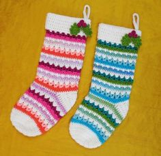 Stockings - 10 Fabulous and Free Christmas Crochet patterns.