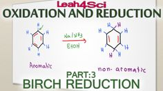 Birch Reduction Reaction and Mechanism Benzene and Substituted Rings Lea...