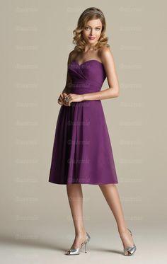 Online Grape Bridesmaid Dress BNNAJ0137-Bridesmaid UK