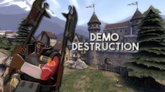 Some classic demoknight shenanigans on degroot keep #games #teamfortress2 #steam #tf2 #SteamNewRelease #gaming #Valve