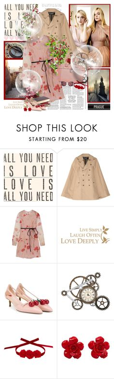 """"""",,Patience brings roses"""" Czech Proverbs"""" by purplecherryblossom ❤ liked on Polyvore featuring Sugarboo Designs, Junya Watanabe, Valentino, WALL, Gucci, Vjera Vilicnik, Chanel and modern"""