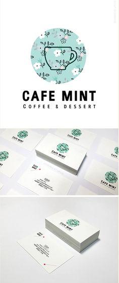 cafe design, name card, business card, jjplus design,