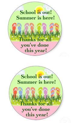 School's out for Summer! Teacher Appreciation Gift | The Kim Six Fix