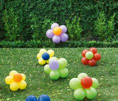How to make balloon flowers
