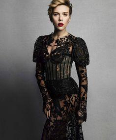 Photography: Tesh Styled by: Leslie Fremar Makeup: Frankie Boyd Model: Scarlett Johansson
