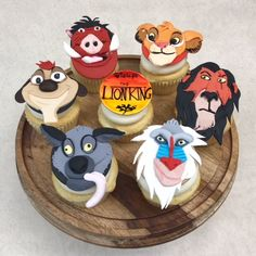 Lion King Cupcake Toppers by bigTops on Etsy . Jul Lion King Cupcake Toppers by bigTops on EtsyLion King Simba Boys First Birthday Cake, Lion King Birthday, Baby Boy Birthday, Lion King Theme, Lion King Party, Formation Patisserie, Lion King Cupcakes, Lion Cakes, Lion King Baby Shower