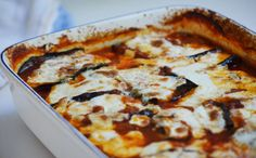 Eggplant, Lebanese style with tomato and pine nuts   Maureen Abood