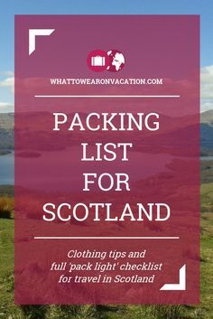 18 Of The Most Luxurious And Expensive Places To Stay In Scotland What should you wear in Scotland? Our clothing advice tells you what to pack, and our free packing lists tell you exactly how much to pack. Pack right, pack light. Scotland Vacation, Scotland Travel, Ireland Travel, Scotland Trip, Visiting Scotland, Scotland History, Glasgow Scotland, Sightseeing London, Travel Wardrobe