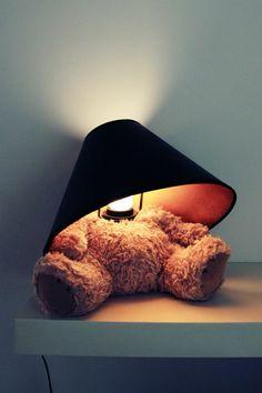 Suck UK Teddy Bear Lamp <3
