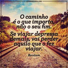 .@levonamochila | Pensamento do dia #levonamochila #frases #viagem #brasil | Webstagram - the best Instagram viewer