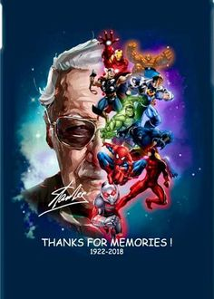 We believe it is not necessary to continue all of Stan Lee& achievements . - We believe there is no need to list all of Stan Lee& achievements – - Marvel Avengers, Marvel Comics, Marvel Fanart, Films Marvel, Bd Comics, Avengers Movies, Meme Comics, Marvel Memes, Marvel Characters