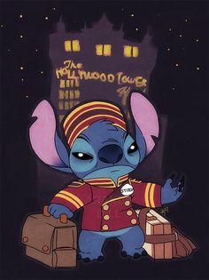 Stitch tower of terror