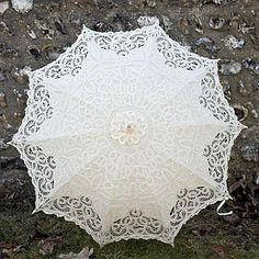 Image detail for -vintage themed weddings aren t complete without lace parasols make ...