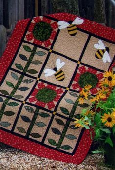 Applique Quilt, Table Runner and Pillow Patterns- Erica's Craft & Sewing Center