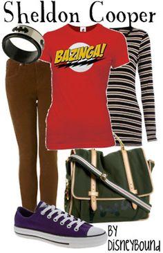 geek, big bang, sheldon cooper, cloth, halloween costumes, girl outfits, bang theori, halloween outfits, inspired outfits