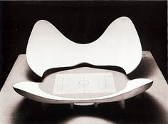 A model of stadium N by Luigi Moretti. Exhibited at the 1960 Parametric Architecture exhibition at the Twelfth Milan Triennial. The stadium derives from a parametric model consisting of nineteen parameters. Fascist Architecture, Stadium Architecture, Parametric Architecture, Parametric Design, Architecture Models, Drawing Architecture, Modern Architecture, Luigi, Livingston