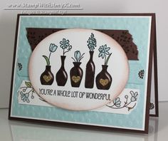 Vivid Vases for Stamping & Blogging – Stampin' Up!