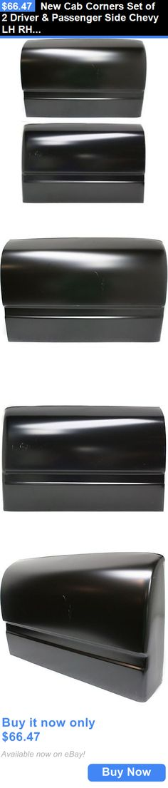 auto parts - general: New Cab Corners Set Of 2 Driver And Passenger Side Chevy Lh Rh C1500 Gmc Pair BUY IT NOW ONLY: $66.47