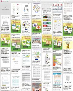 Library of worksheets. Teaching French, French Classroom, School Classroom, School Organisation, 5th Grade Writing, French Education, Core French, French Resources, Names