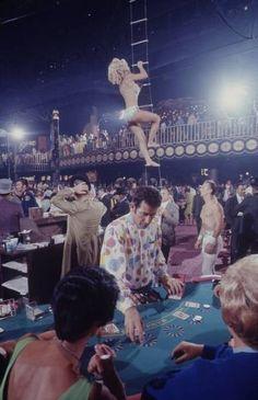The Opening of Circus Circus Casino in 1968, Las Vegas. photo: Ralph Crane