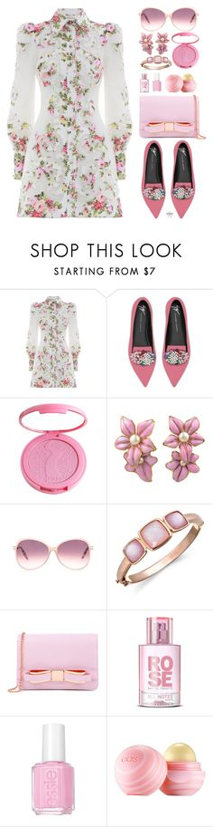 """""""Spring Style 2018"""" by nans0717 ❤ liked on Polyvore featuring Zimmermann, Giuseppe Zanotti, tarte, Chanel, Victoria Beckham, Bronzarte, Ted Baker, Essie and Eos"""