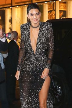 Kendall Jenner arriving At Rainbow Room In New York