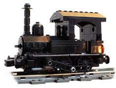JNR Type 160 by Sekiyama using Big Ben Bricks train wheels