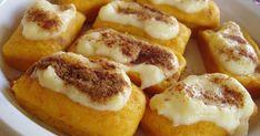 """PAMPOENKOEKIES-IN-DIE-OOND 'n Minder """"sondige"""" weergawe van die tradisionele diepgebraaide pampoenkoekies … sagte botter/marga. Pumpkin Fritters, Baked Pumpkin, Pumpkin Cakes, South African Recipes, Cake Flour, Banana Bread Recipes, Fruit And Veg, Oven Baked, International Recipes"""