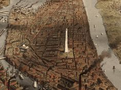 The City of Boston, United States. New York, Currier & Ives, 1873