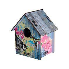 bird house wall decoration