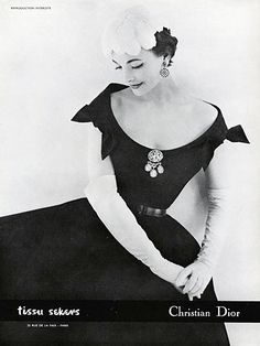 Dress by Dior, 1957