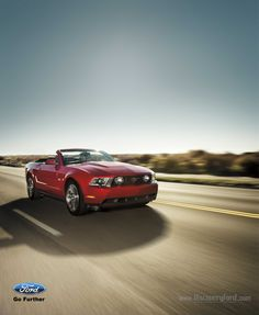 2012 Red Ford Mustang. © Ford Motor Co. Canada