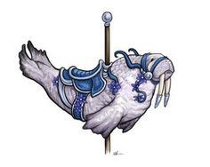 Carousel Walrus by ursulav